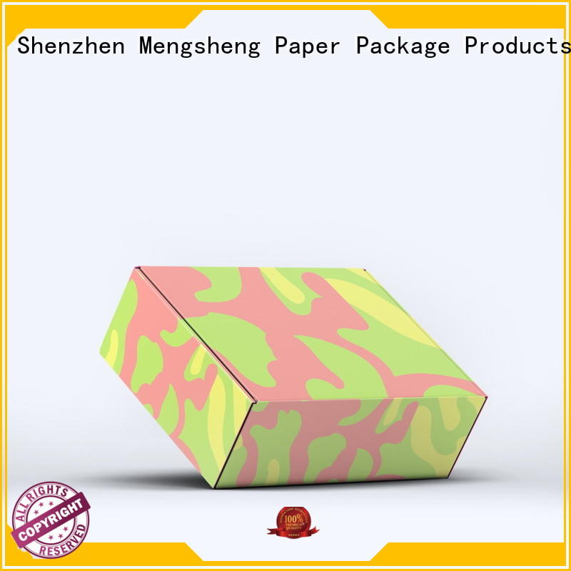 Mengsheng round tube large shipping boxes convenient