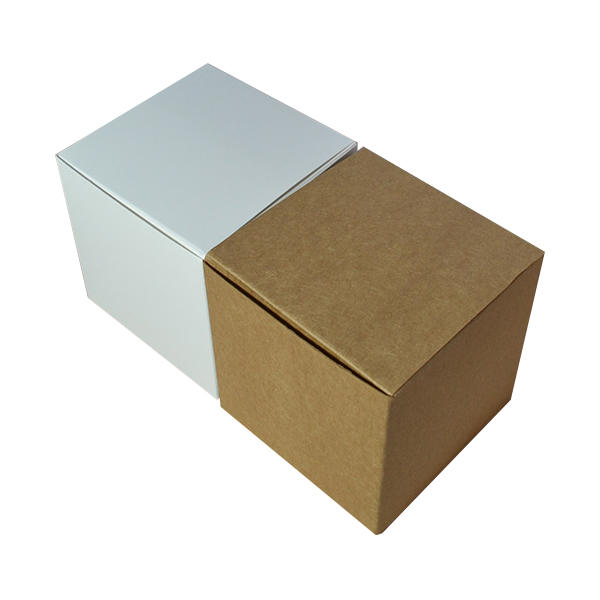 Mengsheng clear window square gift boxes with lids folding design for christmas gift-3