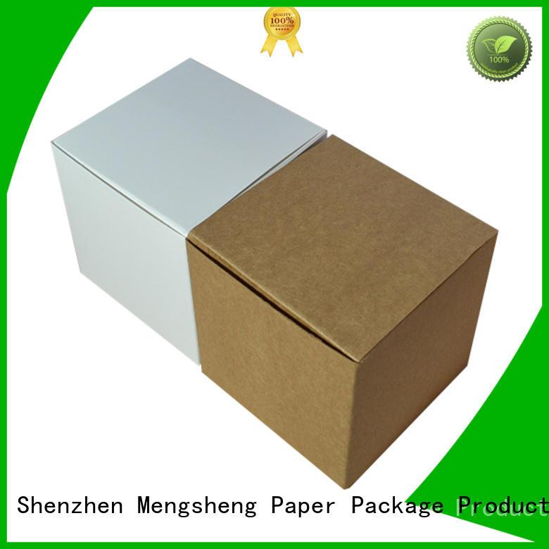 Mengsheng imprinted mini cake boxes rectangular for wholesale