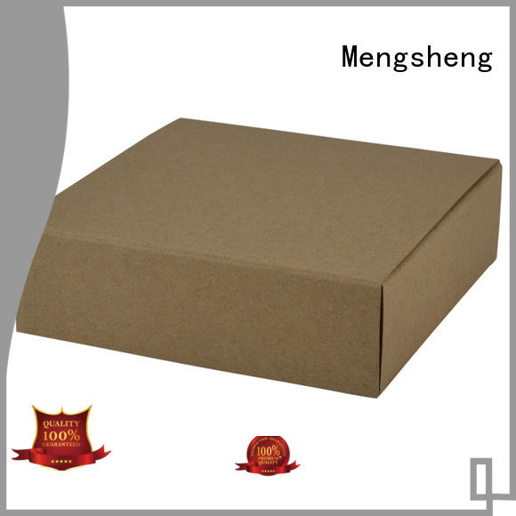 Mengsheng handmade card box with lid luxury jewelry packing